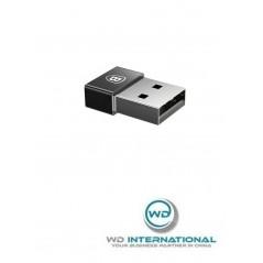 Adaptateur Noir Baseus Exquisite USB vers Type-C 2.4A (CATJQ-A01)