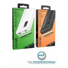 Batterie Externe Blanche Borofone BT32 10000mAh