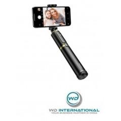Perche à Selfie et Trépied Télescopique Baseus Noir Or (SUDYZP-D1V)