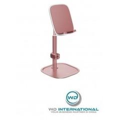 Soporte de escritorio rosa para Tablet y Smartphone Baseus Literary Youth (SUWY-0R)