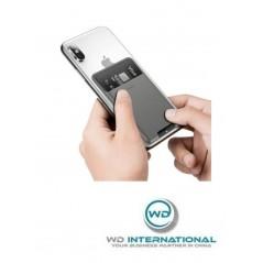 Porta tarjetas Gris Oscuro Baseus Portable Card (ACKD-A0G)