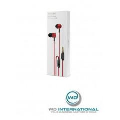 Écouteurs Filaires Rouges Baseus Encok H04 (NGH04-09)