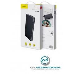Power Bank Noir et Gris Baseus Choc 10000mAh USB, Type-C et Micro USB (PPALL-QK1G)