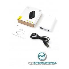 Power Bank Noir Baseus Mini S Digital Display Compact 10000mAgh USB / Type-C / Lighting (PPALL-XF01)
