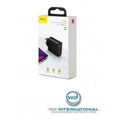 Chargeur Secteur Noir Baseus Speed Dual 30W USB x2 5A (CCFS-E01)
