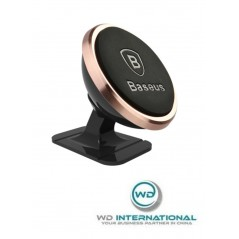 Support Voiture Rose Baseus 360° Rotation (SUGENT-NT0R)