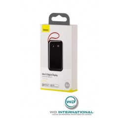 Power Bank Noir Baseus Mini S Digital Display 10000mAh avec Câble Lightning (PPXF-A01)
