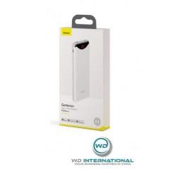 Power Bank Blanc Baseus Gentleman Digital Display 10000mAh USB x2 2.1A (PPLN-A02)