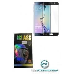 Vidrio templado 3D HD curvado Samsung Galaxy S6 Edge Negro
