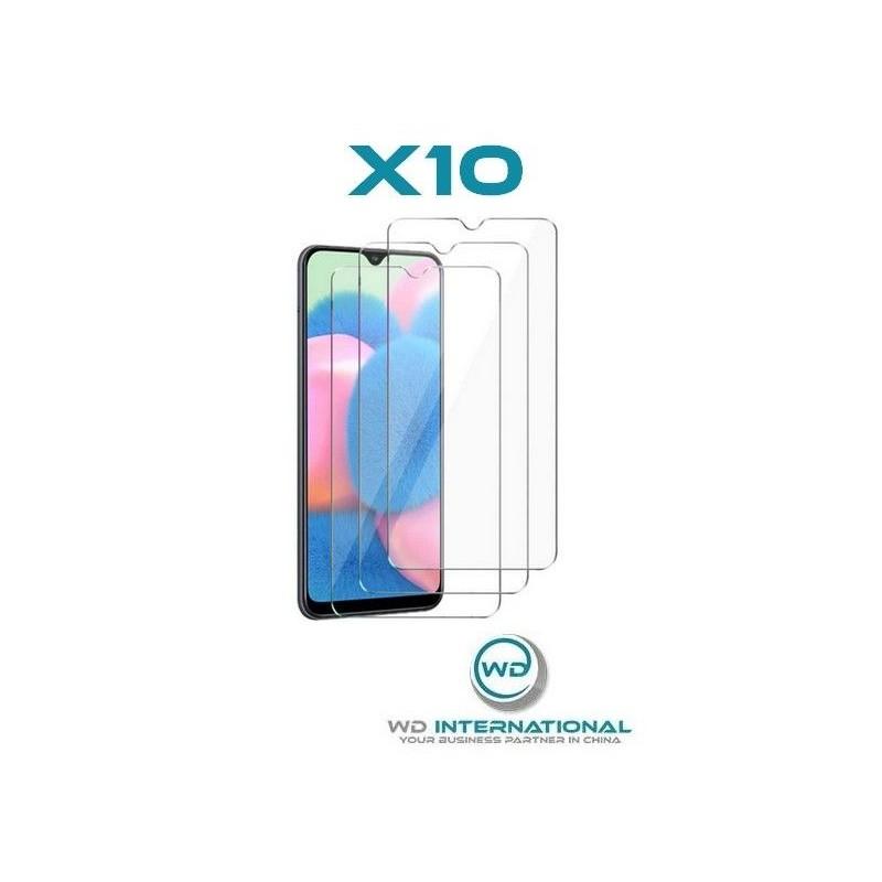 10 Verres Trempés Samsung A30s