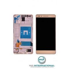 Ecran Or Huawei Honor 7 (avec châssis)
