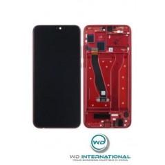 Ecran Rouge Huawei Honor 8x (avec châssis)
