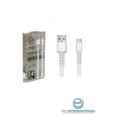 Cable Remax Type-C Blanc Armor series RC-116a