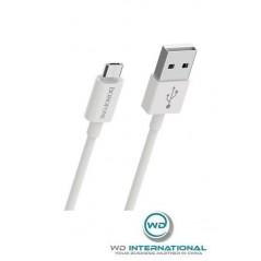 Câble Blanc Micro-USB - 1m - Borofone (BX22)