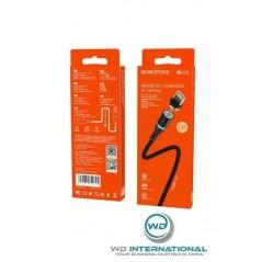 Câble Magnetic Lightning 1.2m Noir BU16 Borofone