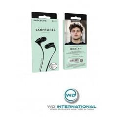 Écouteurs Filaires Universels avec micro Noir Borofone (BM26)