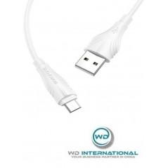 Câble Borofone Blanc Micro-USB (BX18) 2M
