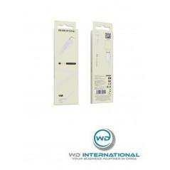 Câble Blanc Lightning - 1m - Borofone (BX18)