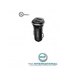 Chargeur Voiture Hoco Z1 Double Port 12/24V Noir