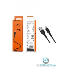 Câble Noir Micro-USB - 1m - Borofone (BX16)