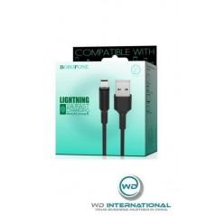 Câble Noir Lightning - 1m - Borofone (BX1)