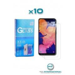 10 verres trempés Samsung A10s