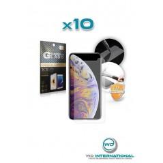10 Verres trempés iPhone XR en packaging