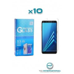 10 Cristal Templados para Samsung A8 2018