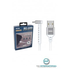 cable remax lightning blanc RC-100I