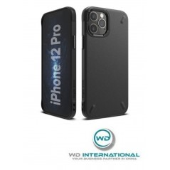 Coque TPU Ringke Onyx Durable iPhone 12 Pro / iPhone 12 (OXAP0022) Noire