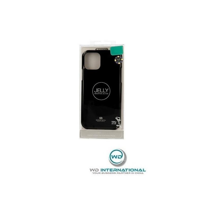 Coque Goospery jelly Samsung Note 10 plus Noire