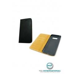 Coque en cuir véritable Samsung S8 Noire