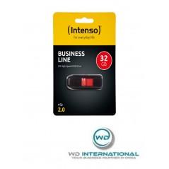 Clé USB Intenso Business Line 32GB Noir / Rouge