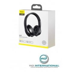 Auricular Bluetooth Negro Baseus Encok con un micrófono incorporado