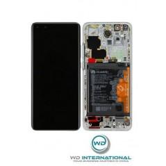 Écran Origine constructeur Blanc Huawei P40 Pro Ice