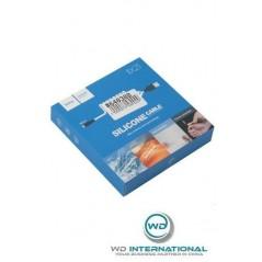 Câble Hoco X21 Micro USB Noir et Blanc 1M