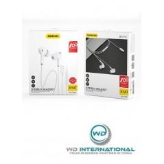 Ecouteurs Filaires Dudao USB Type C Blancs X14T