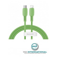 Câble Baseus Colourful Type-C vers Lightning 1.2M Vert (CATLDC-06)