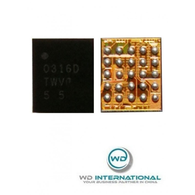 Lot de 5 Puces Vibreur U3601 Homer IC iPhone 7 / 7 Plus