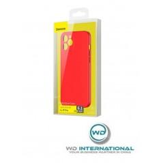 Coque Rouge Baseus Liquid Silica Gel iPhone 12 Pro (WIAPIPH61P-YT09)