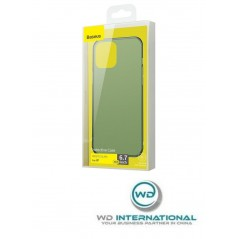 Coque Vert Foncé Baseus Frosted Glass iPhone 12 Pro Max (WIAPIPH67N-WS06)