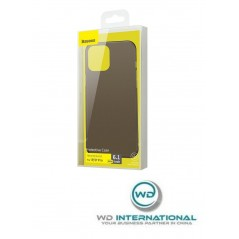 Coque Noire Baseus Frosted Glass iPhone 12 / 12 Pro (WIAPIPH61P-WS01)
