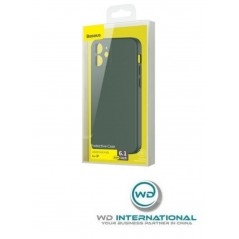Coque Baseus Liquid Silica Gel iPhone 12 Vert Foncé (WIAPIPH61N-YT6A)