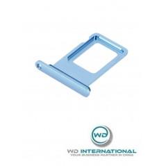 Tiroir Sim iPhone X Bleu