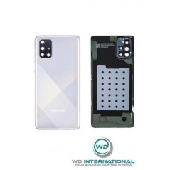 Back Cover Samsung Galaxy A71 (SM-A715) Argent Service Pack