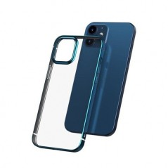 Coque Baseus Shining iPhone 12 Pro Max Bleue navy (ARAPIPH67N-MD03)