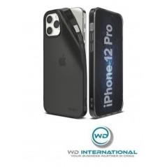 Coque TPU Ringke Air iPhone 12 /12 Pro Grise Transparente (ARAP0036)