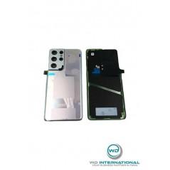 Back Cover Samsung Galaxy S21 Ultra 5G (SM-G998) Argent Phantom Service Pack