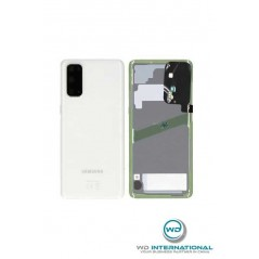 Back cover Blanc Samsung S20 Service Pack