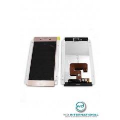 Ecran Sony Xperia XZ1 (G8341) Rose Origine Constructeur